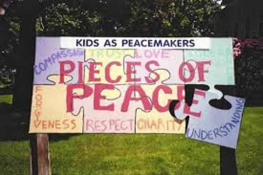 Anita Stanley talks about Children's Peace Week