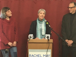 Rachel May talks about her race against NYS Senator David Valesky