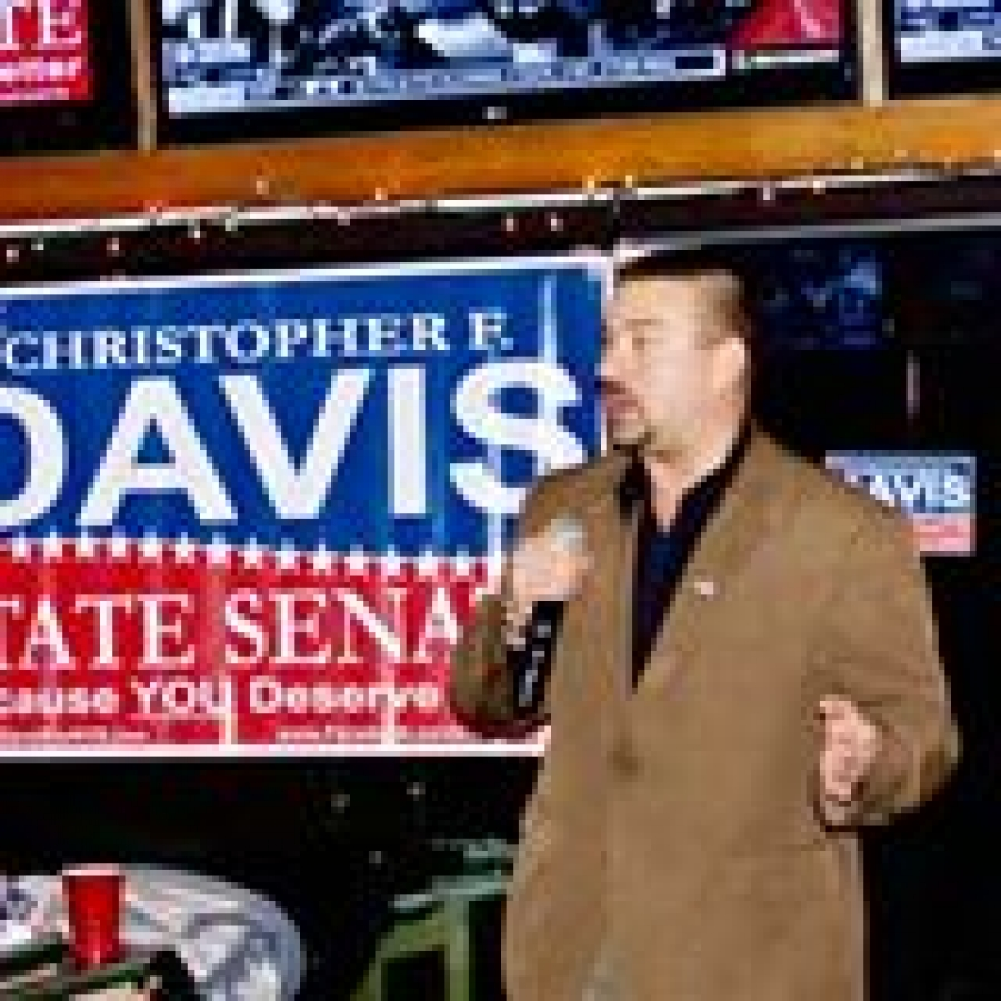 Christopher Davis talks about his candicacy for the NYS Senate
