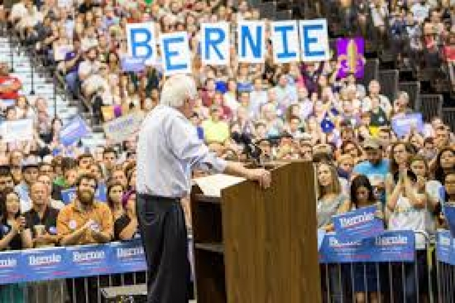 Doug Bullock talks about the Bernie Sanders rally in Albany