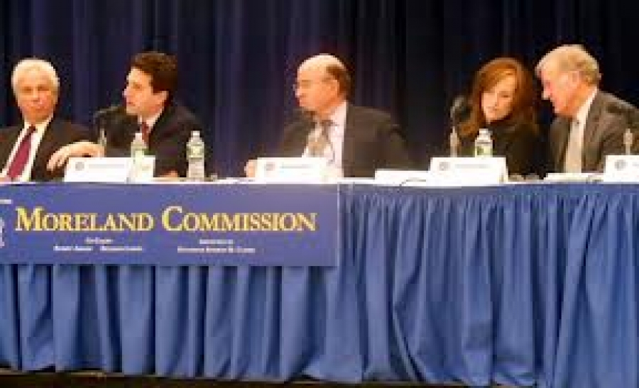What happened to the Moreland Commission?