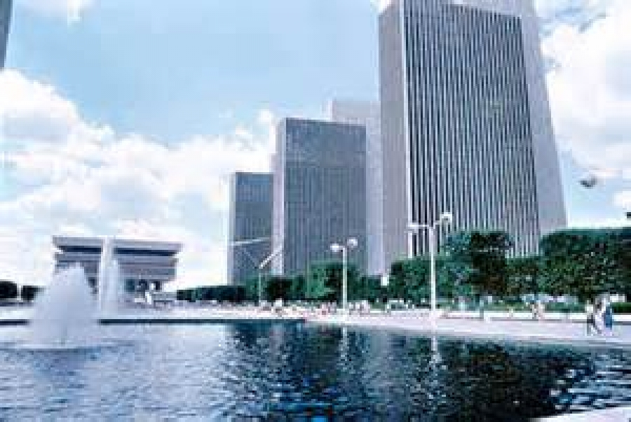 the 50th Anniversary of the Empire State Plaza
