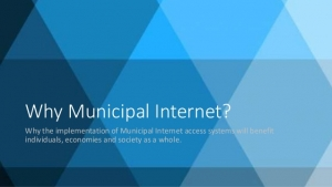 Jason Mutford discusses Municipal Internet in Albany