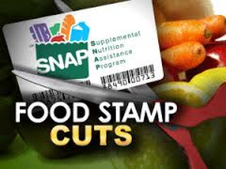 A discussion about Food Stamp Reduction