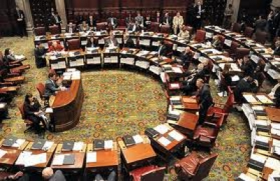 GOP, independent Dems claim NY Senate majority