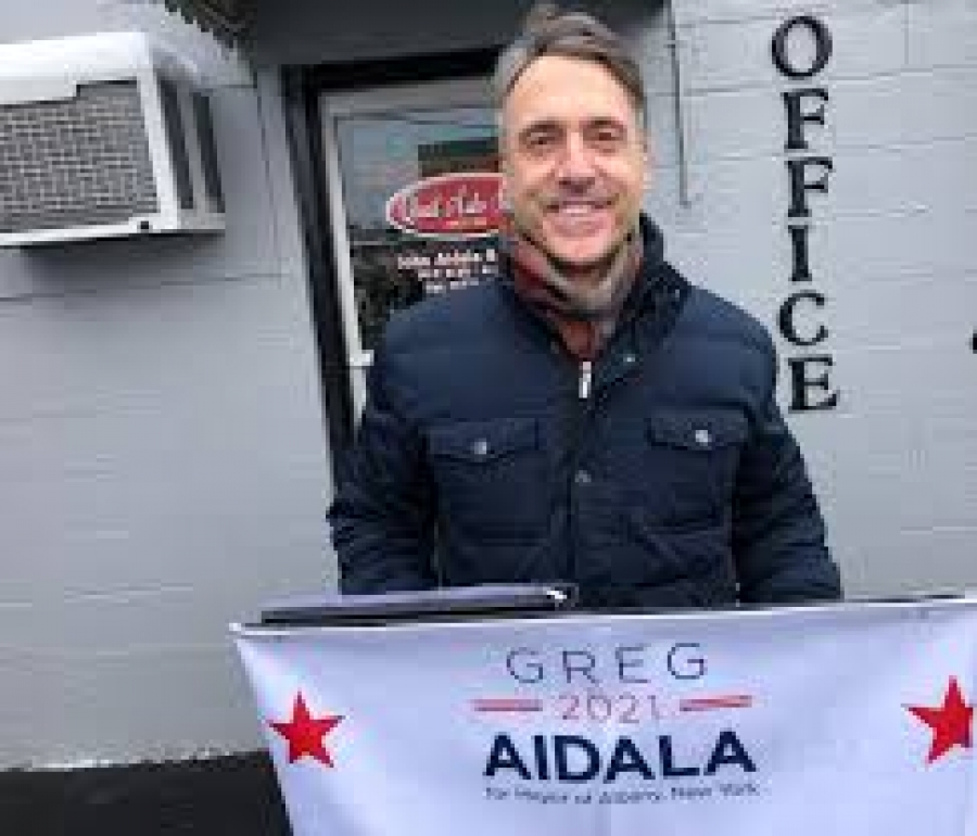 Greg Aidala talks about his candidacy for mayor of Albany