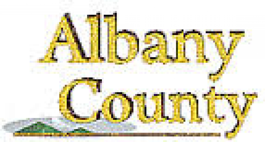 Mary Rozak talks about the event to promote Albany County businesses