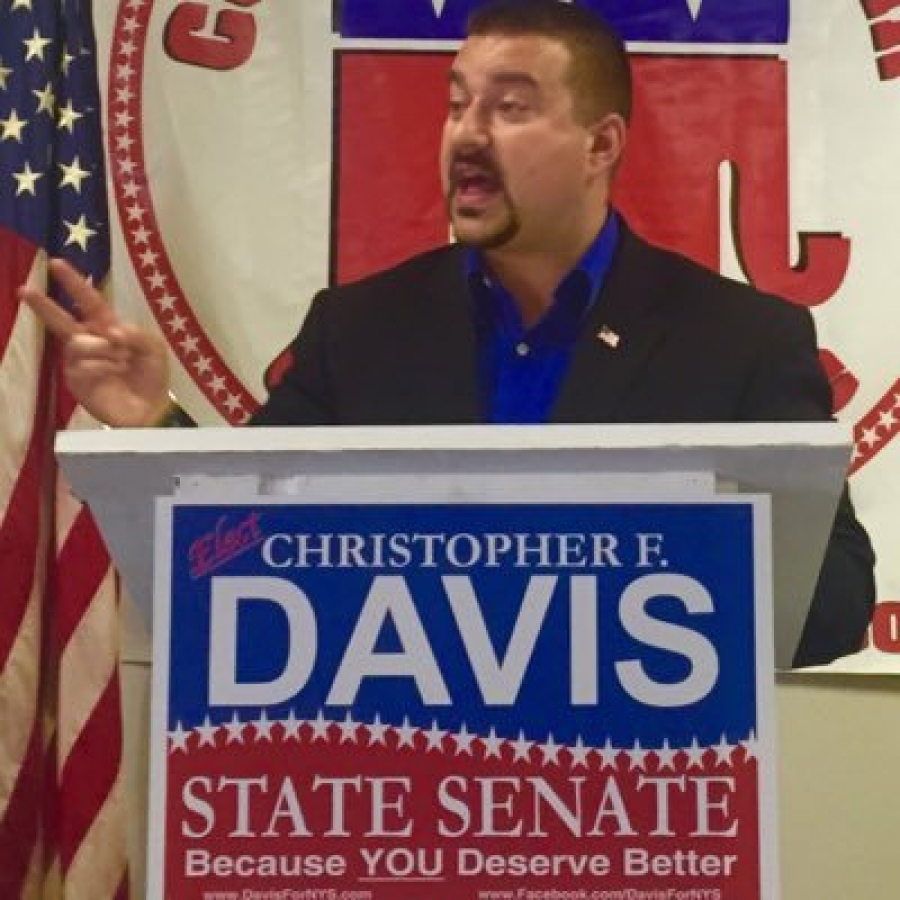 Dr. Christopher Davis talks about his run for the NYS Senate