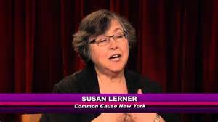 Susan Lerner discusses legislation she would like to see passed in Albany