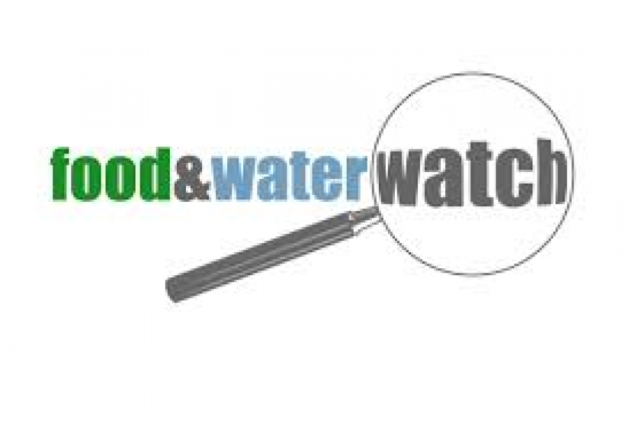 A Converasation about Food and Water Watch